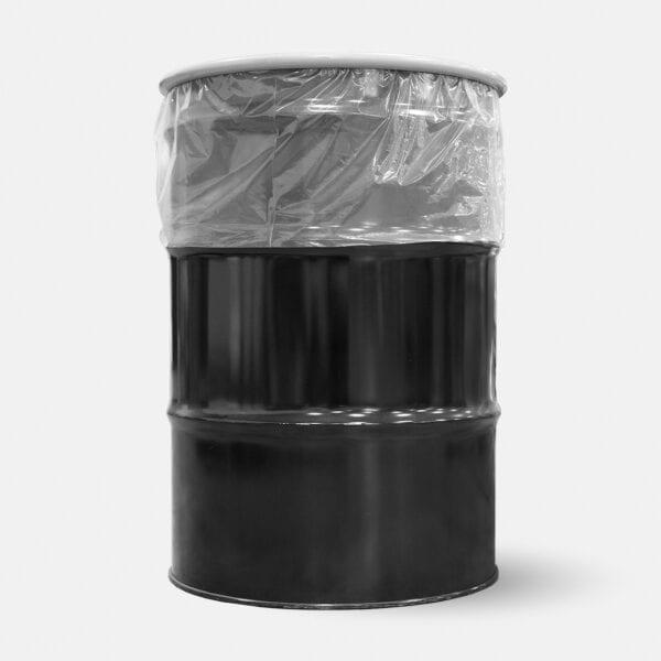 Damaged battery kit in 55 gallon steel drum